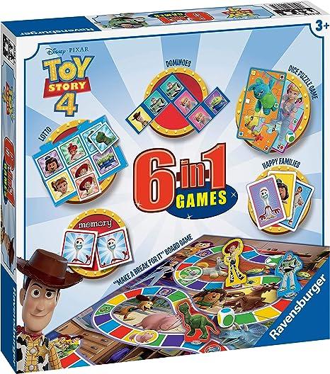Ravensburger Disney Toy Story 4, Juego 6 en 1 para niños y ...