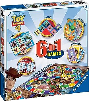 Ravensburger Disney Toy Story 4, juego 6 en 1 para niños y familias a partir de