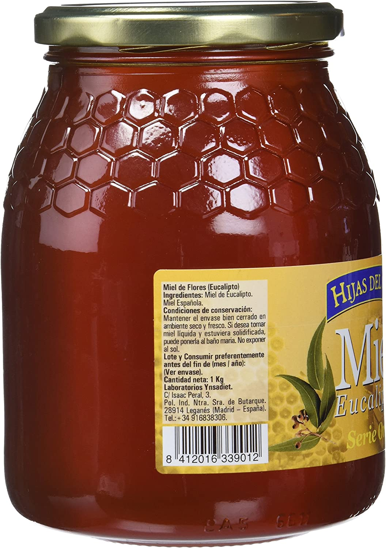 Hijas Del Sol Miel Eucaliptus - 1000 gr: Amazon.es: Alimentación y ...