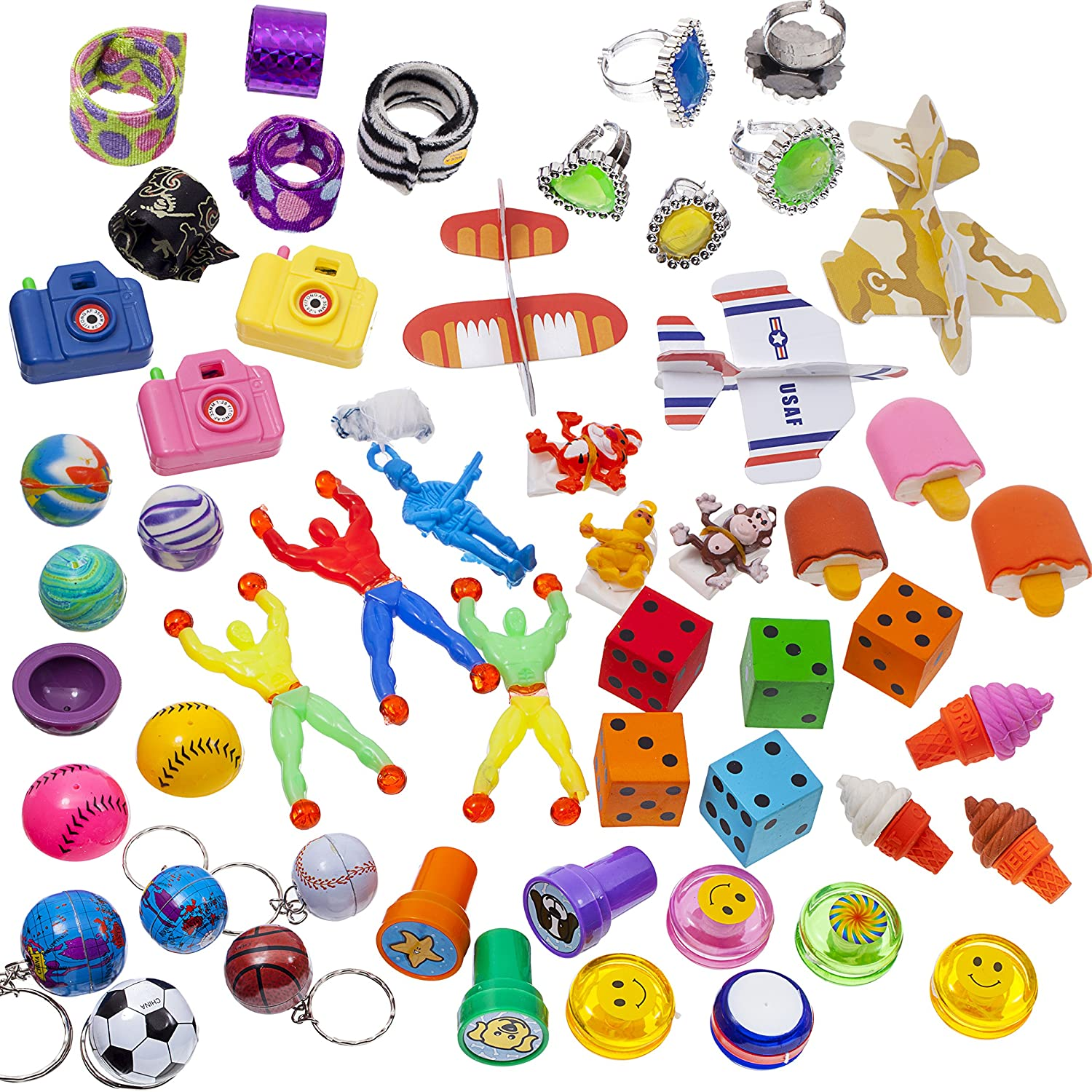 Amazon BDC Super Cool Toy Assortment 100 Pieces Toys & Games