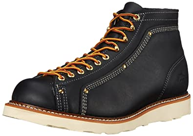 954d8abe04f Amazon.com: Thorogood Men's Heritage Lace-To-Toe Roofer Work Boot: Shoes