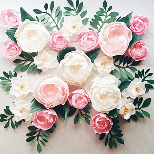 Amazon paper flower wall display girl nursery wall decor paper flower wall display girl nursery wall decor garden party photo booth crepe mightylinksfo