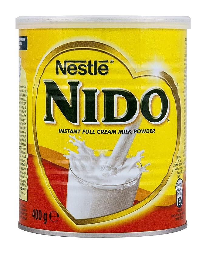 Nestlé Nestle Nido leche en polvo instantánea, 400 G,: Amazon.es: Alimentación y bebidas