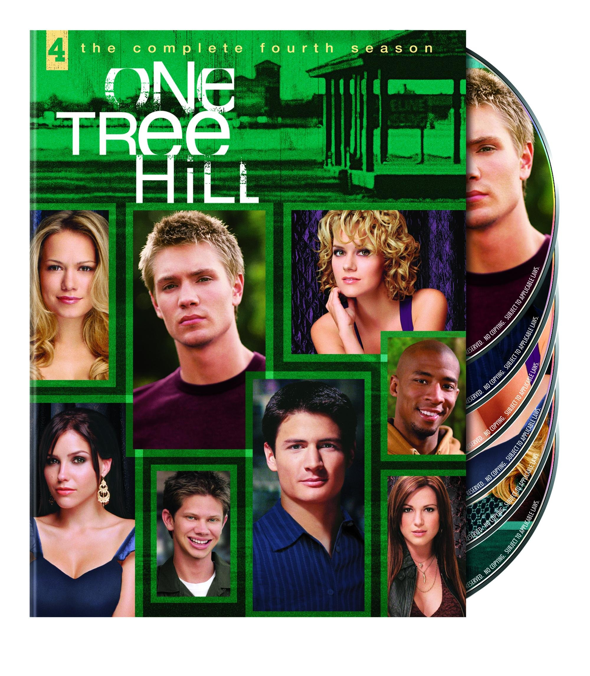 DVD : One Tree Hill: The Complete Fourth Season (Full Frame, Repackaged, Dolby, AC-3, )