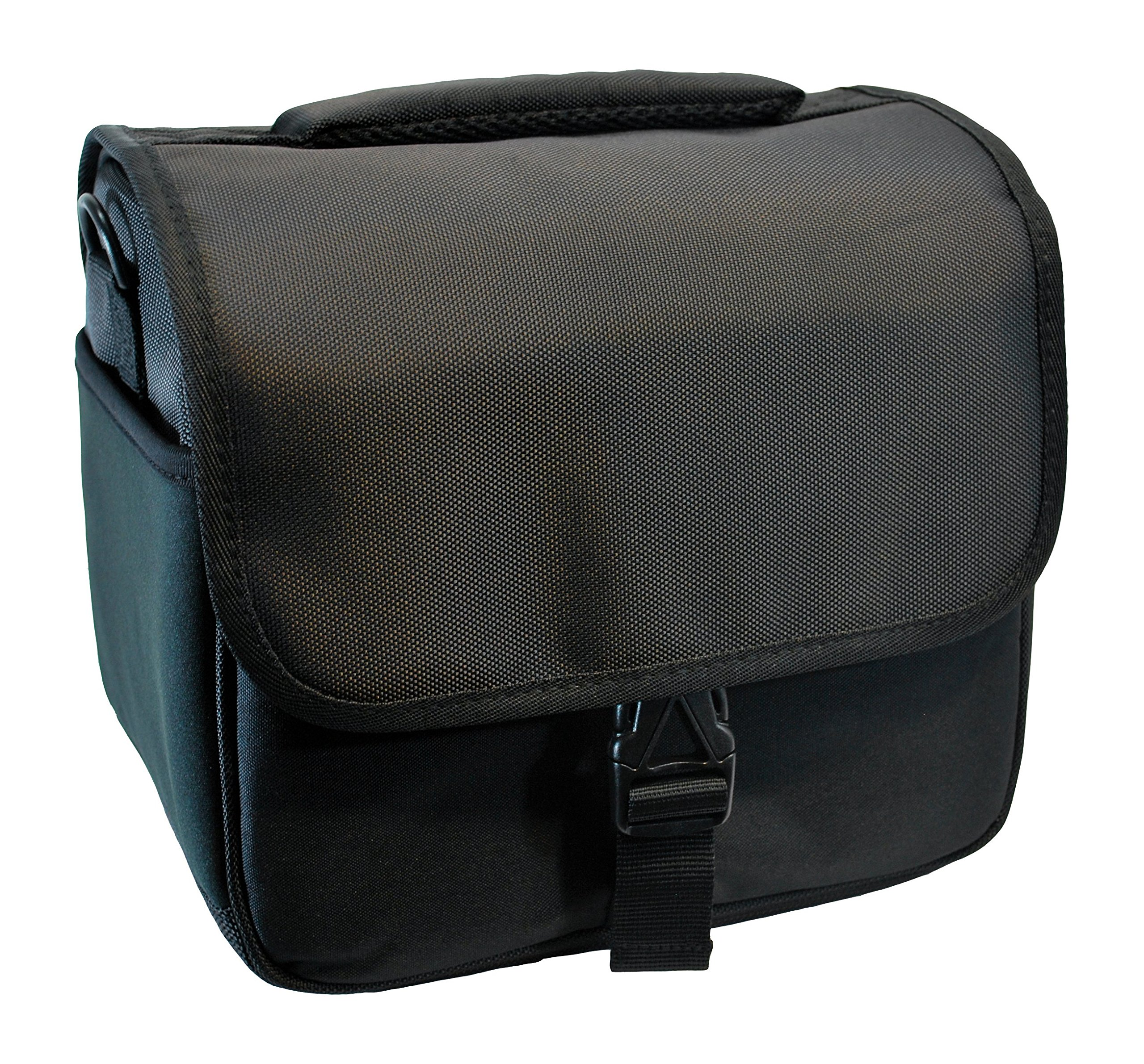 Designer Black DSLR Camera Bag