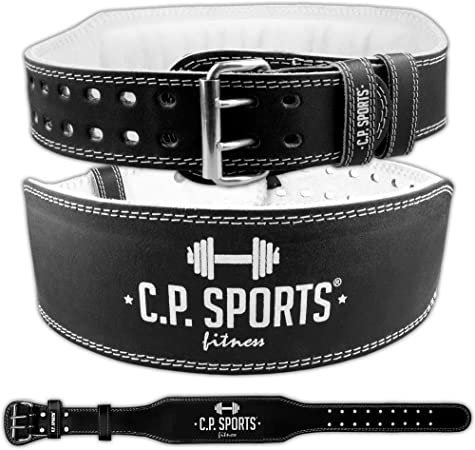 C.P.Sports Training Belt Weightlifter in Pelle