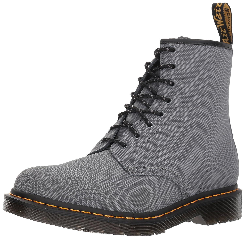 Dr. Martens Men's 1460 Combat Boot, 8.5 B(M) US Women/7.5 D(M) US Men B078ZKQYZQ 13 M UK (14 US)|Grey