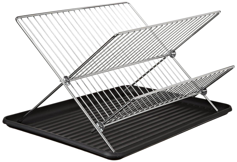 Cook Pro Inc. 2 Pc Chrome Folding Dish Rack