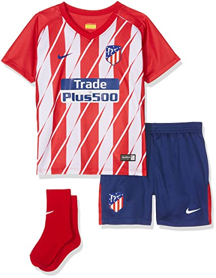 e0cb18a76 Image Unavailable. Image not available for. Color: Nike 2017-2018 Atletico  Madrid Home Baby Kit