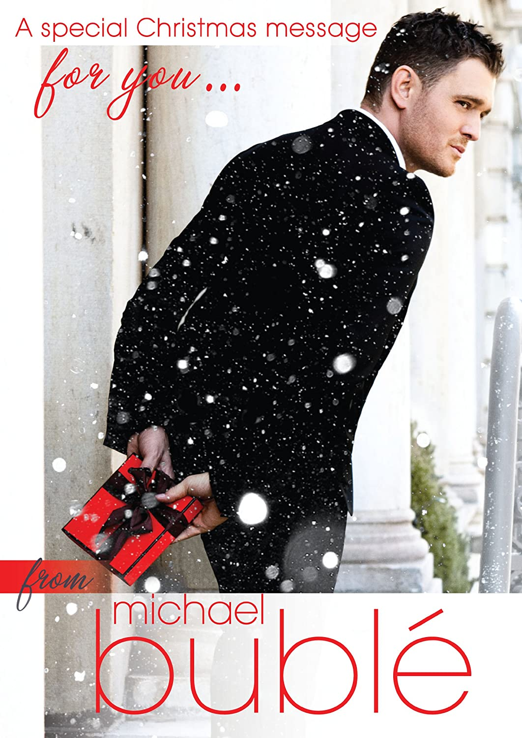 Michael Buble Sound Christmas Greeting Card: Amazon.co.uk: Office ...