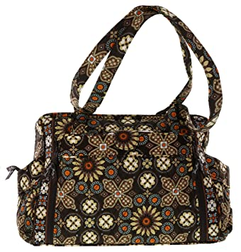 3685da34a385 Image Unavailable. Image not available for. Color  Vera Bradley Make Change Baby  Bag in Canyon