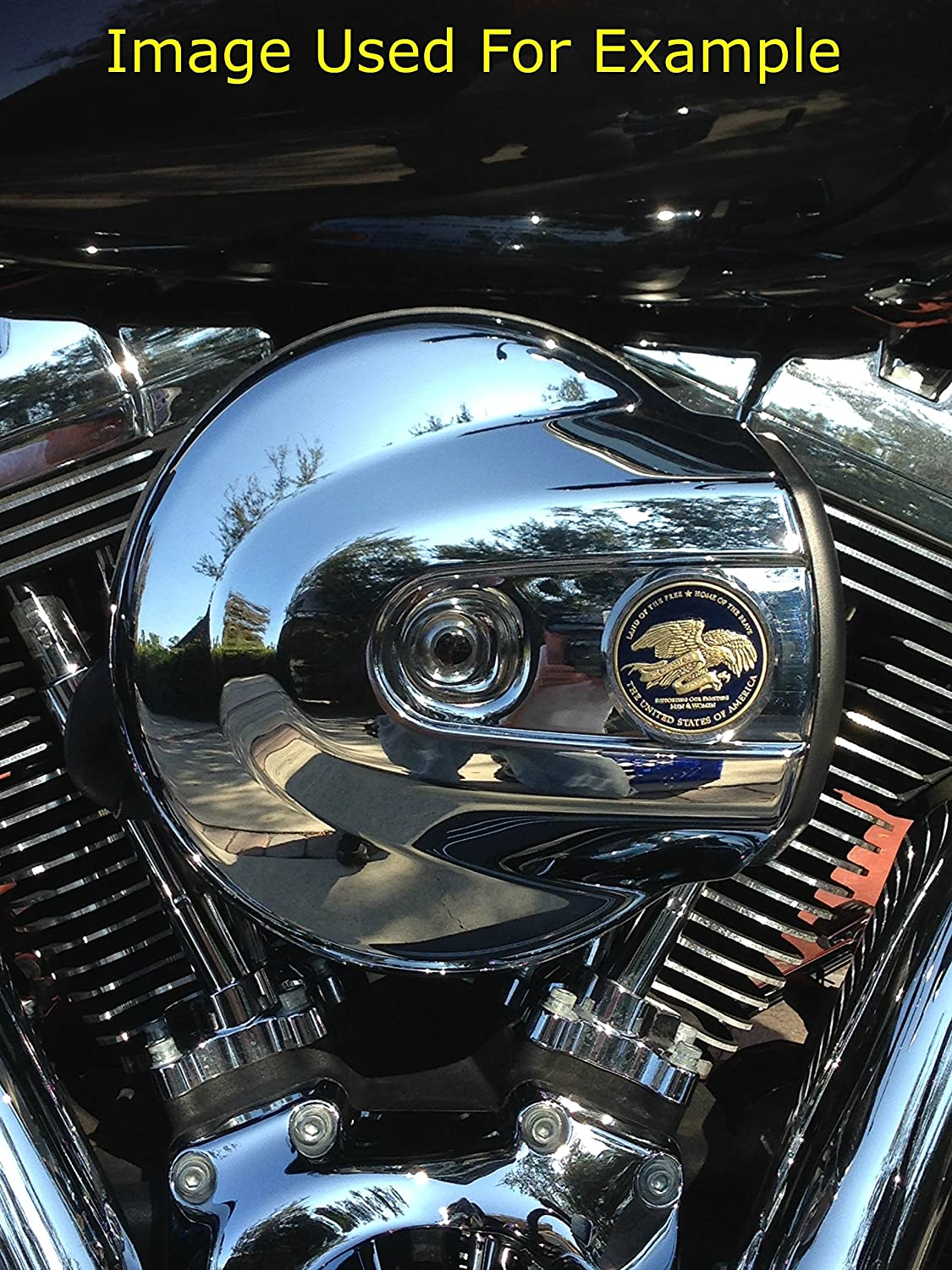 MotorDog69 Retired Air Force Harley Air Cleaner Coin Mount Set/…