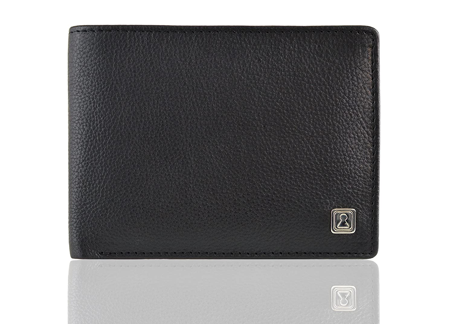 OPTEXX® RFID Blocking Wallet Michael Black TÜV tested and certified Wallet with rfid blocker