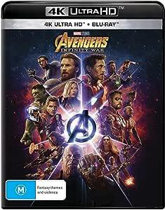 Avengers: Infinity War (4K Ultra HD + Blu-ray)