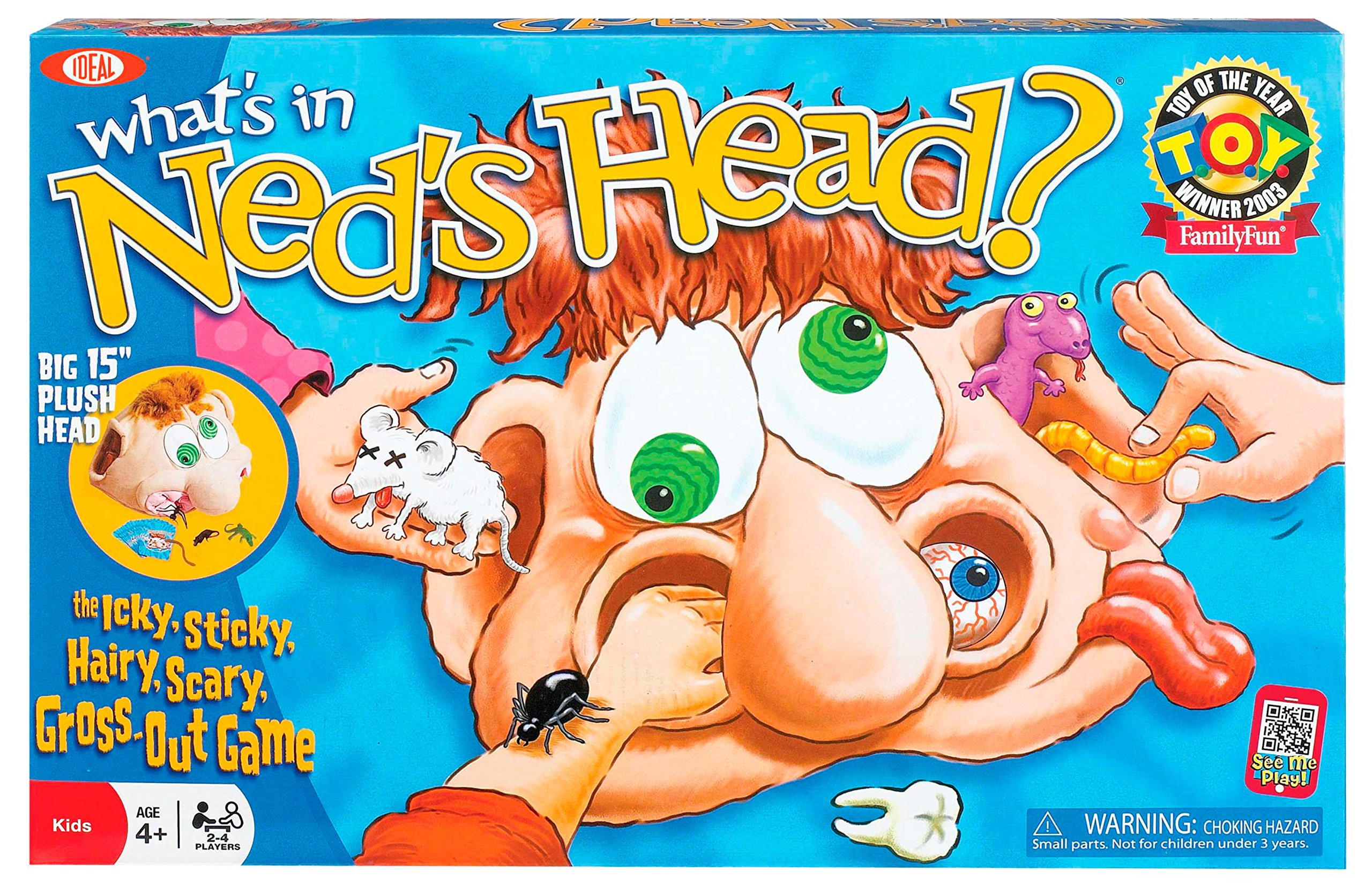 Ideal What's In Ned's Head Game