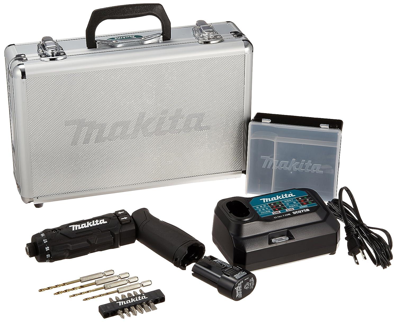 マキタ(Makita) 充電式ペンドライバドリル 7.2V 1.5Ah バッテリ2本充電器アルミケース付 DF012DSHX B01L930FUQ 青|バッテリー×2充電器ケース付 青