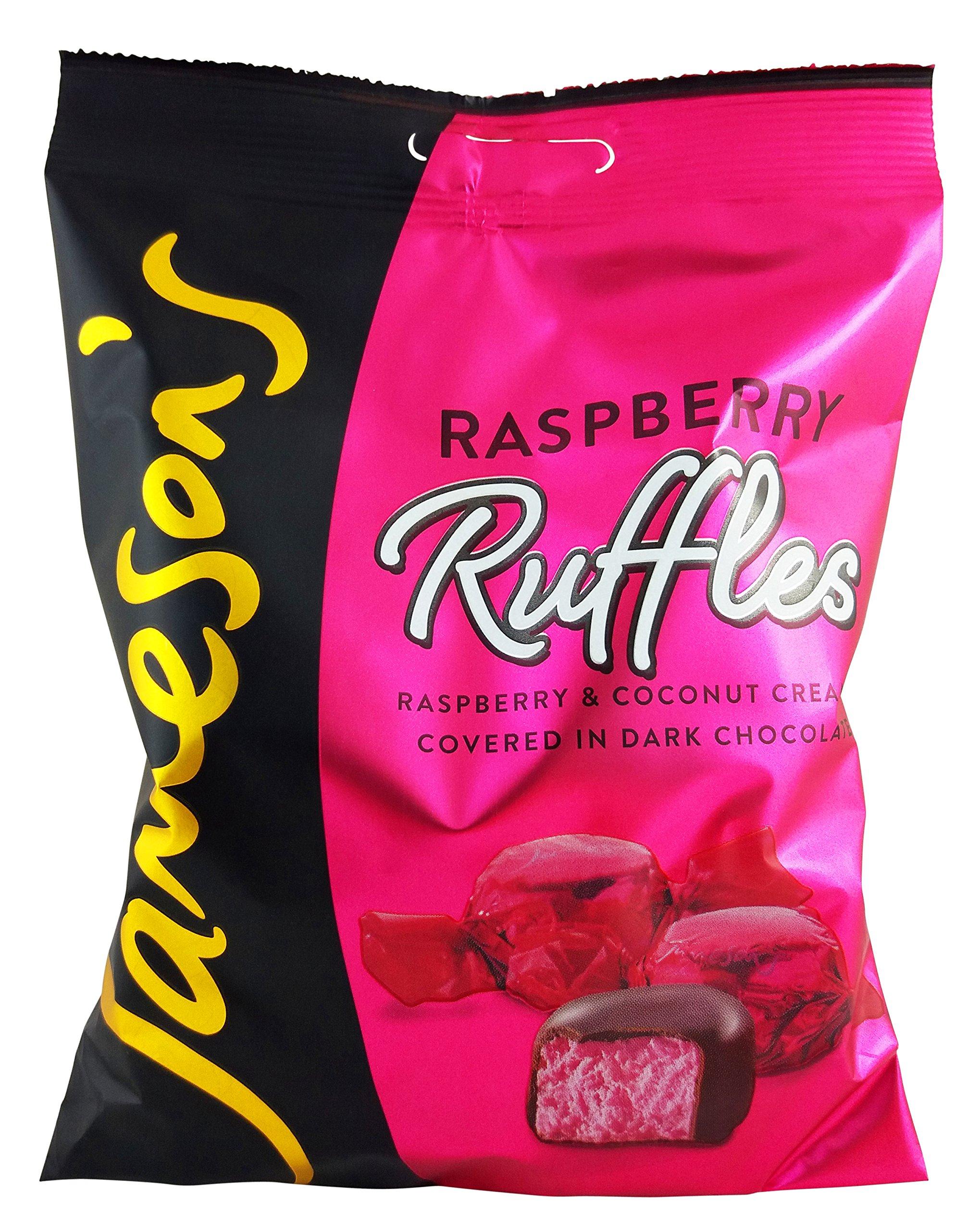 Jameson's Raspberry Ruffles - 135g (4 Bags)