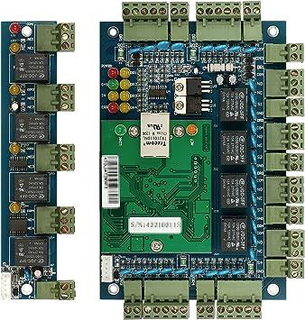 IP Lector de Tablero Tablero de Control de Acceso Red TCP IP Lector de Tablero de Panel de Control de Acceso para Uso de Puerta Wiegand 4