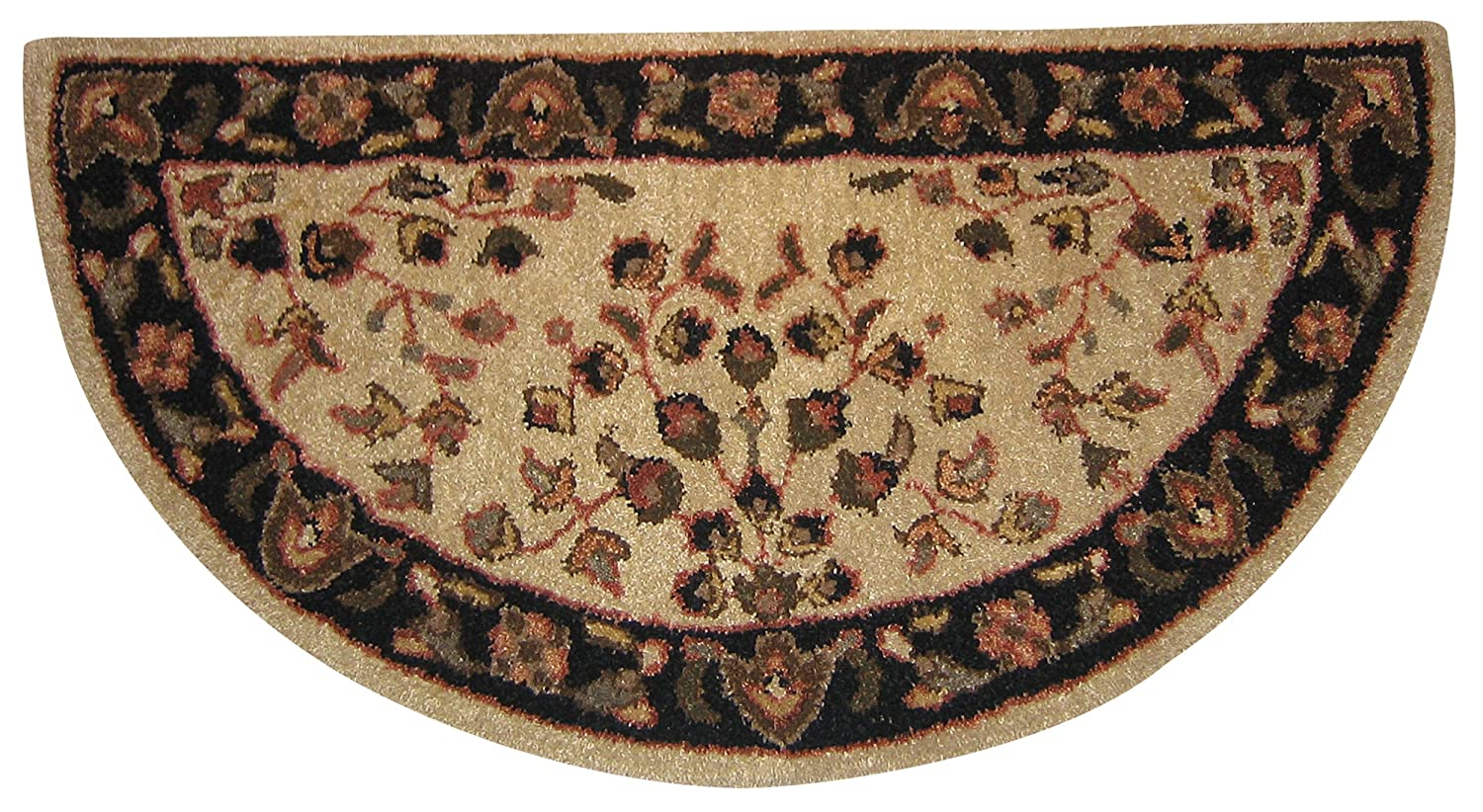 wool iron chenille west o products elm kilim palmette rug rugs