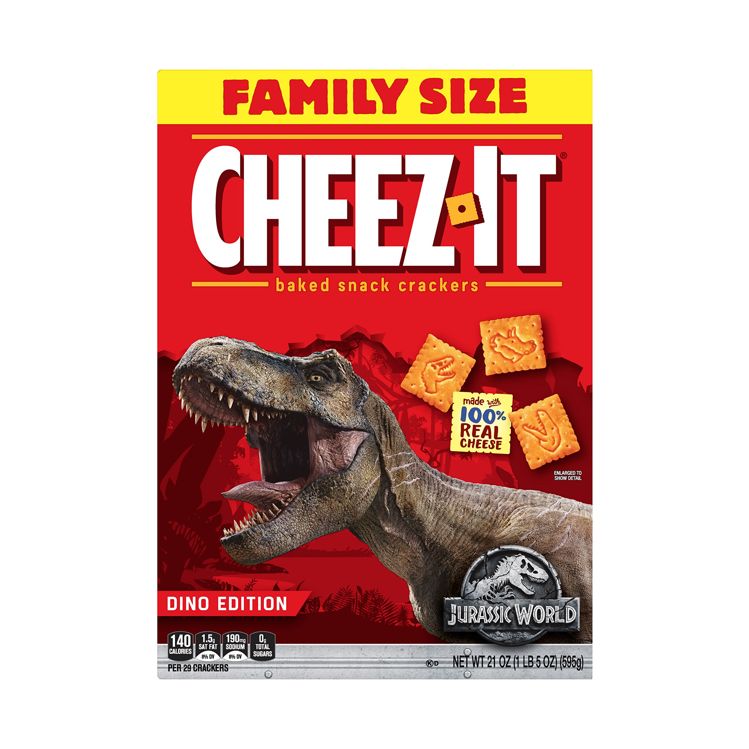 Cheez-It Despicable Me 3 'Family Size' (21-Ounce Box)(Pack of 12) by Cheez-It (Image #6)