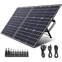 SWAREY Panel Solar Monocristalino 100W 18V DC/USB/QC3.0/Tipo-C PD 60W/MC4 ETFE Material Placa Solar para Generadores…
