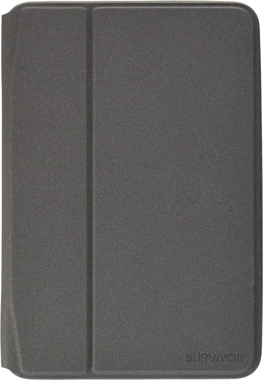 Griffin Technology GB42183 iPad Mini 4 Protective Case, Survivor Journey Folio, Gray, Grey