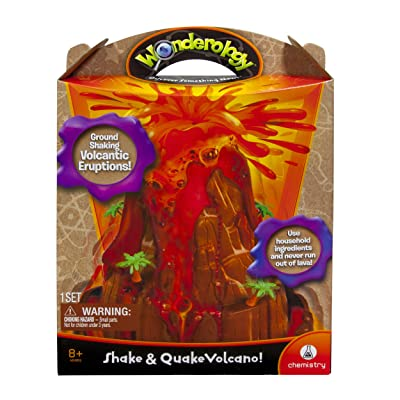 Wonderology – Science Kit – Shake & Quake Volcano: Toys & Games