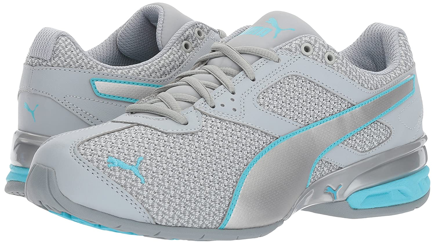 PUMA Women's Tazon 6 Knit Wn US|Quarry-puma Sneaker B01N0SKI8H 8 B(M) US|Quarry-puma Wn Silver-nrgy Turquoise 267c3c
