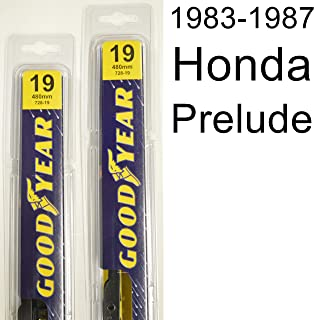 "product image for Honda Prelude (1983-1987) Wiper Blade Kit - Set Includes 19"" (Driver Side), 19"" (Passenger Side) (2 Blades Total)"