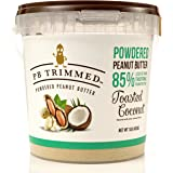 Powdered Peanut Butter (TOASTED COCONUT) 1 LB Container, By: PB Trimmed