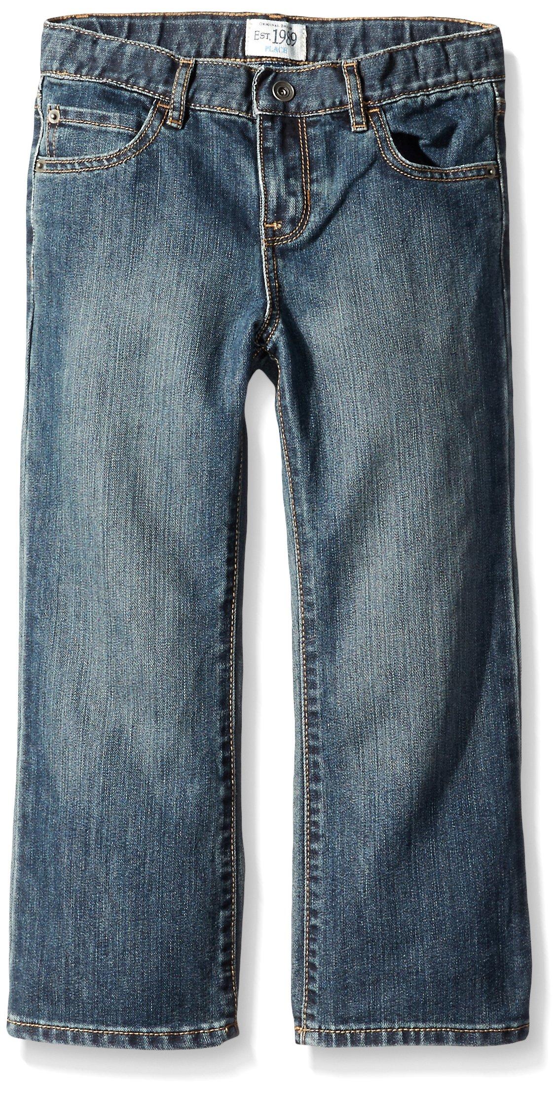 The Children's Place Husky Boys Bootcut Jeans, Dust Bowl, 6 Husky