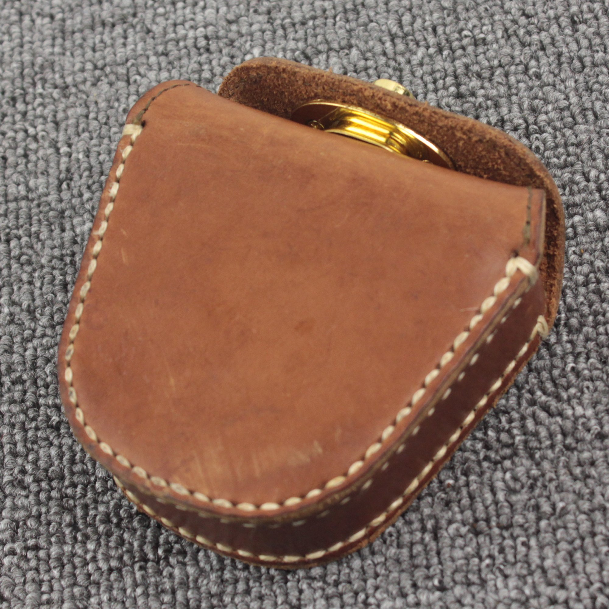 Thick Geninue Leather Handmade Pellets Ammo Storage Bag Pouch hunting outdoor by Unknown (Image #2)