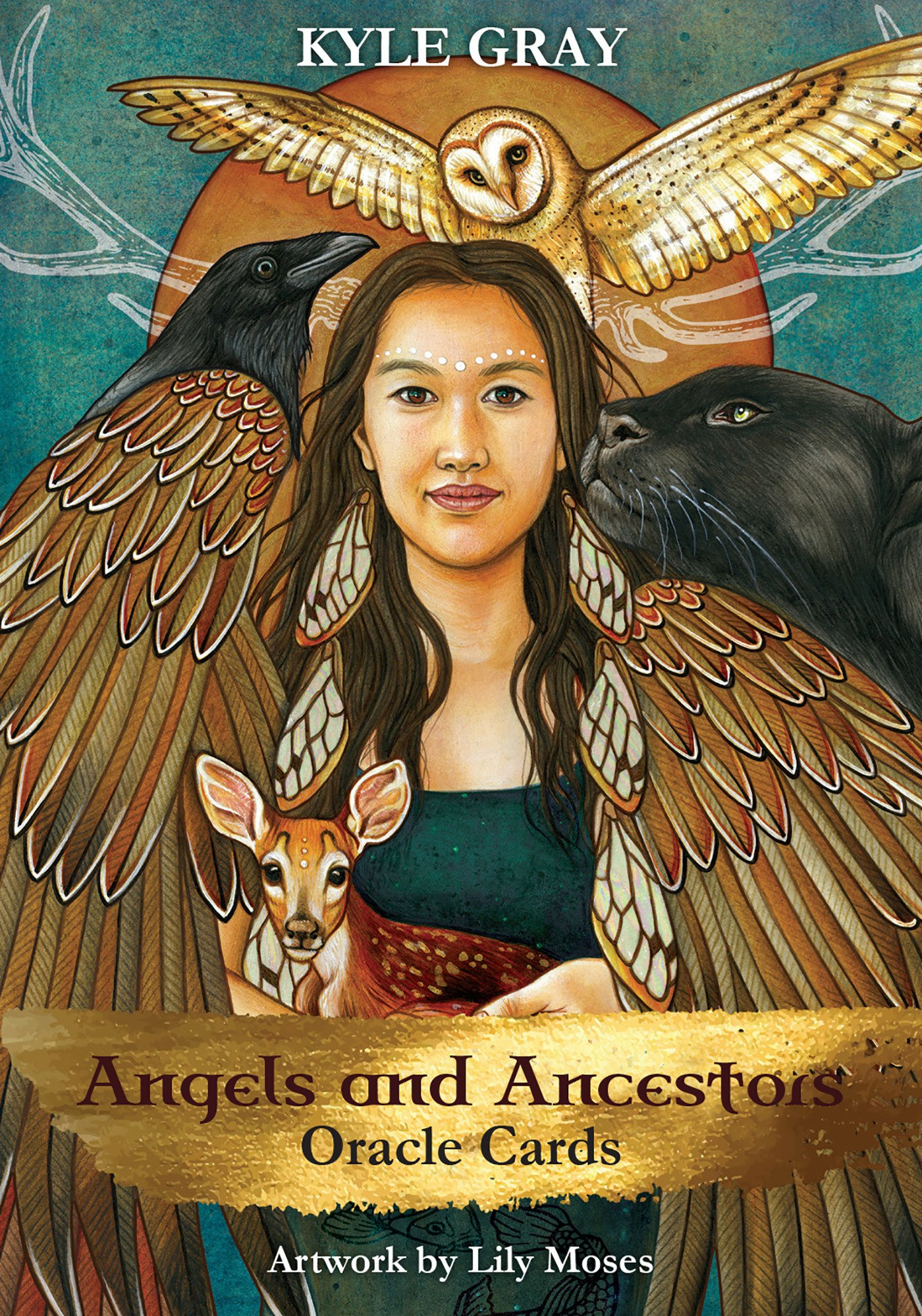Cartas Oraculo Angels And Ancestors [importadas] Xsr