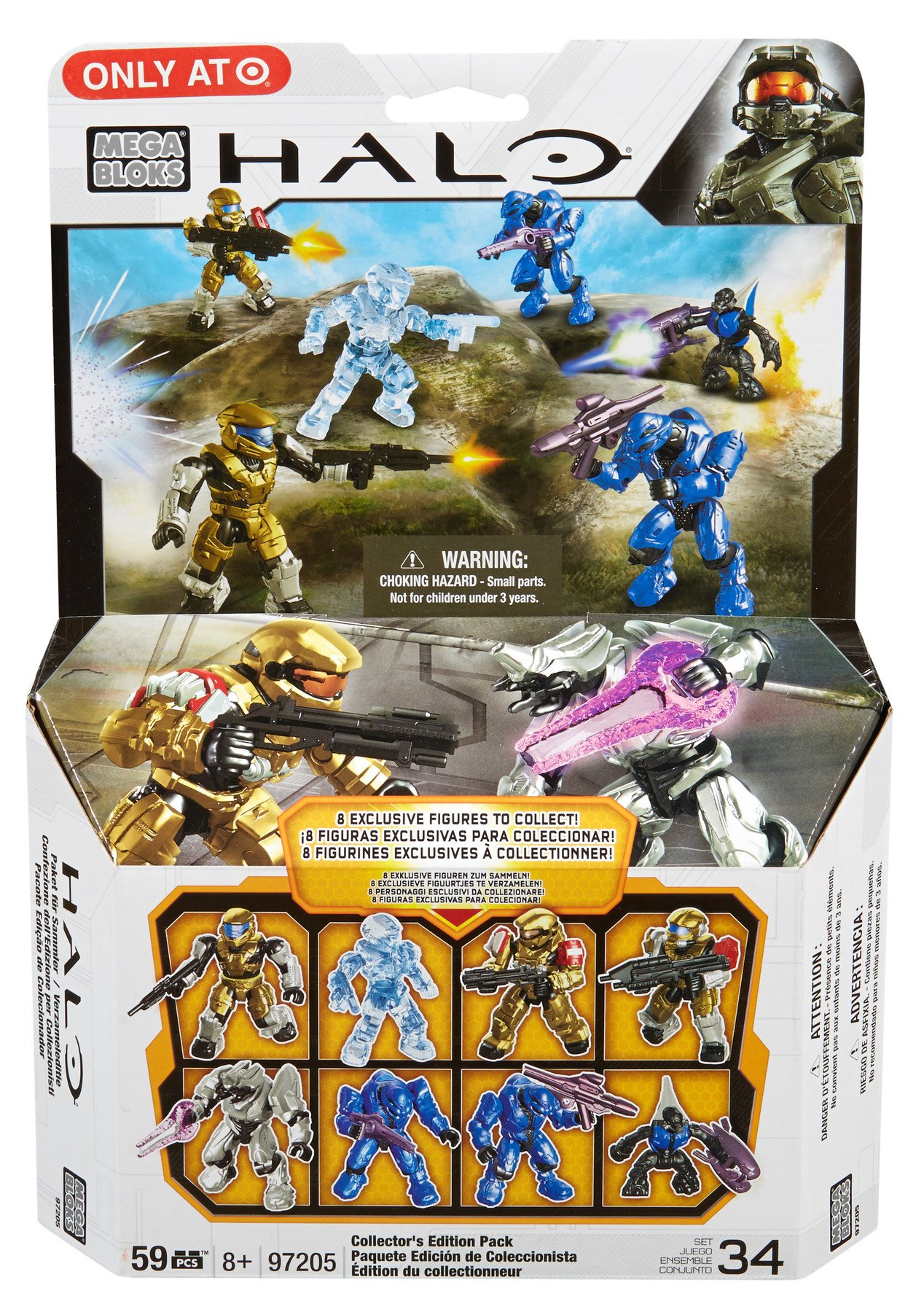 Mega Bloks Halo Collectors Edition Pack Discontinued by manufacturer