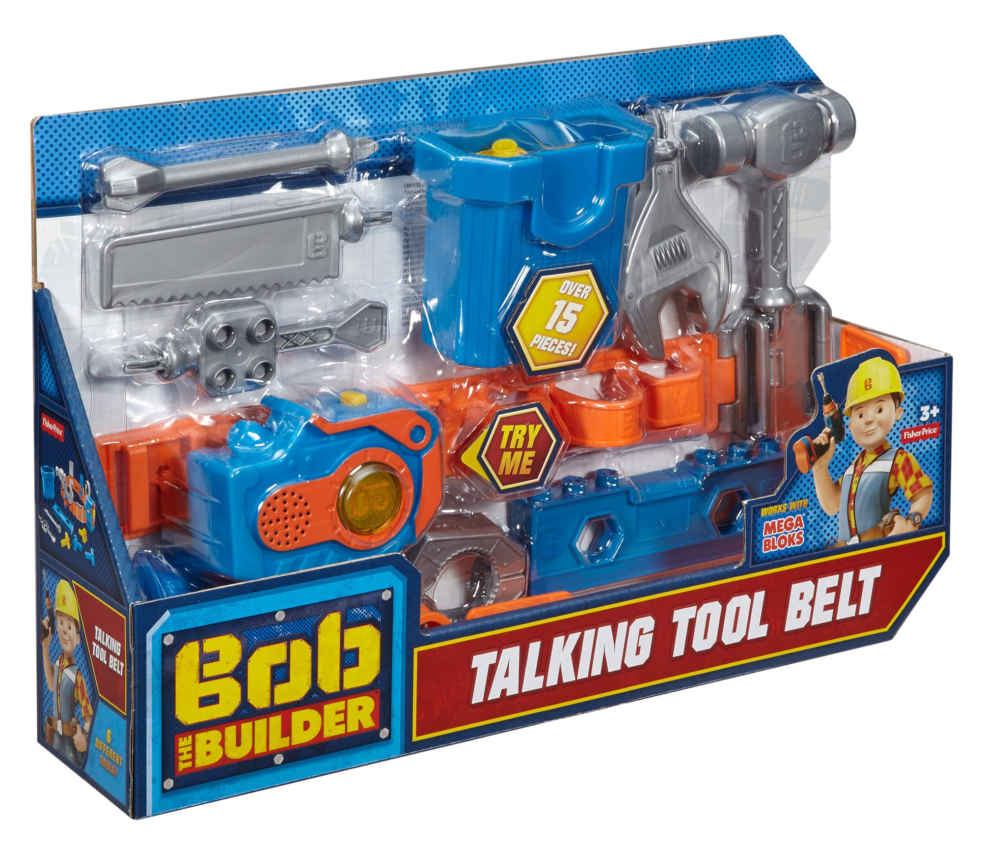 Fisher-Price Bob the Builder, Talking Tool Belt by Fisher-Price (Image #13)