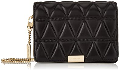 af4ad01c550b Image Unavailable. Image not available for. Color: Michael Kors Womens Jade  Md Gusset Clutch Clutch Black ...