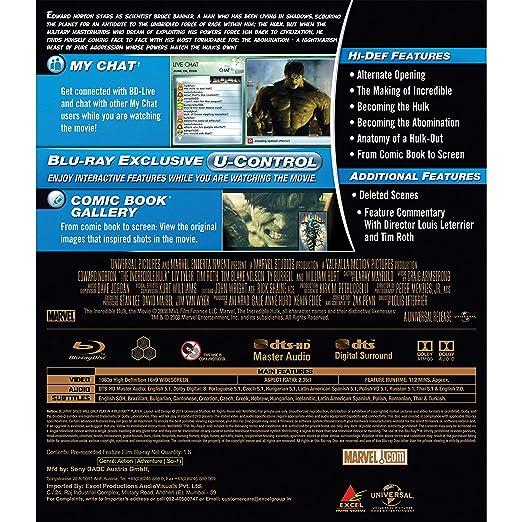 Amazonin Buy The Incredible Hulk Dvd Blu Ray Online At