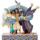 Enesco Jim Shore's Aladdin Group Hug Statue Standard