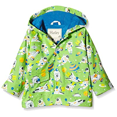 Hatley Baby Boys' Astronauts Infant Raincoat