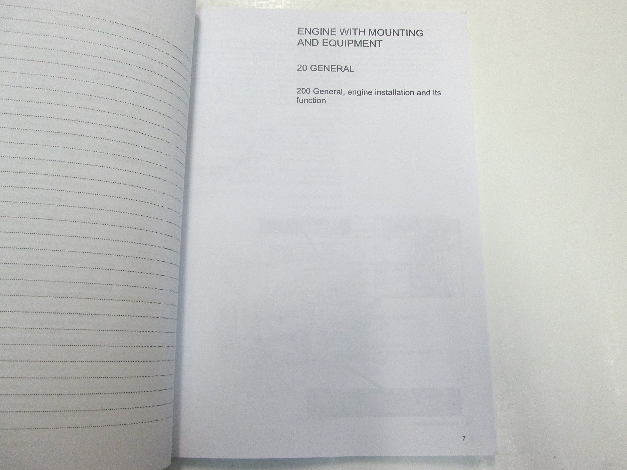 2015 Volvo L60H L70H L90H Engine Descriptions Service Manual ...