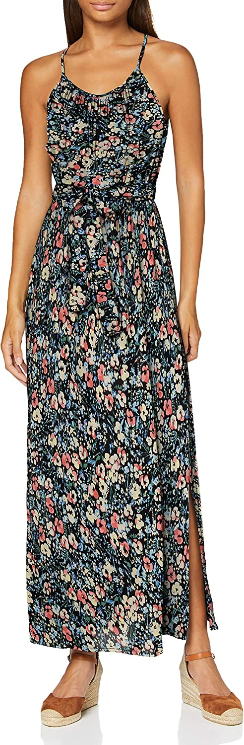 Vero Moda Vmsimply Easy Slit Maxi Dress Wvn Ga Vestito Donna