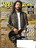 Rolling Stone Magazine (September 21, 2017) Dave Grohl Cover