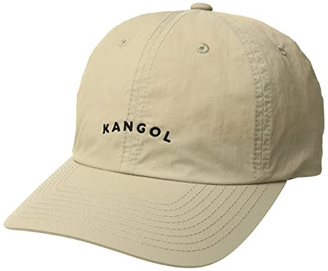 9fe1514188e4bb Amazon.com: Kangol Men's Vintage Baseball Dad Cap, Beige, 1SFM: Clothing