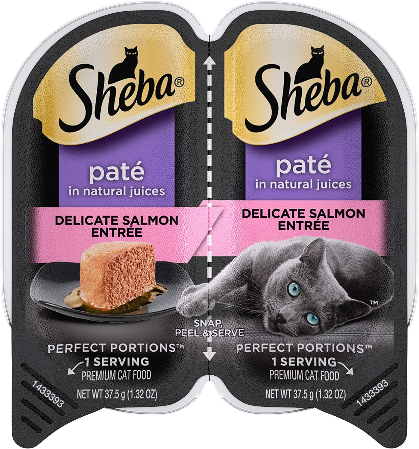 Sheba Perfect Portions Paté Wet Cat Food Trays