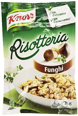 Knorr - Platos Risotto Champiñones, 175 gr - [Pack de 15]