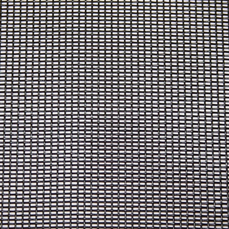 Transparente /Pinza para Protecci/ón de Tejido /Protecci/ón contra Mosquitos/ Negro Metro 150/cm de Ancho Resistente a los Rayos UV // TESO Mosquitera Gaze/
