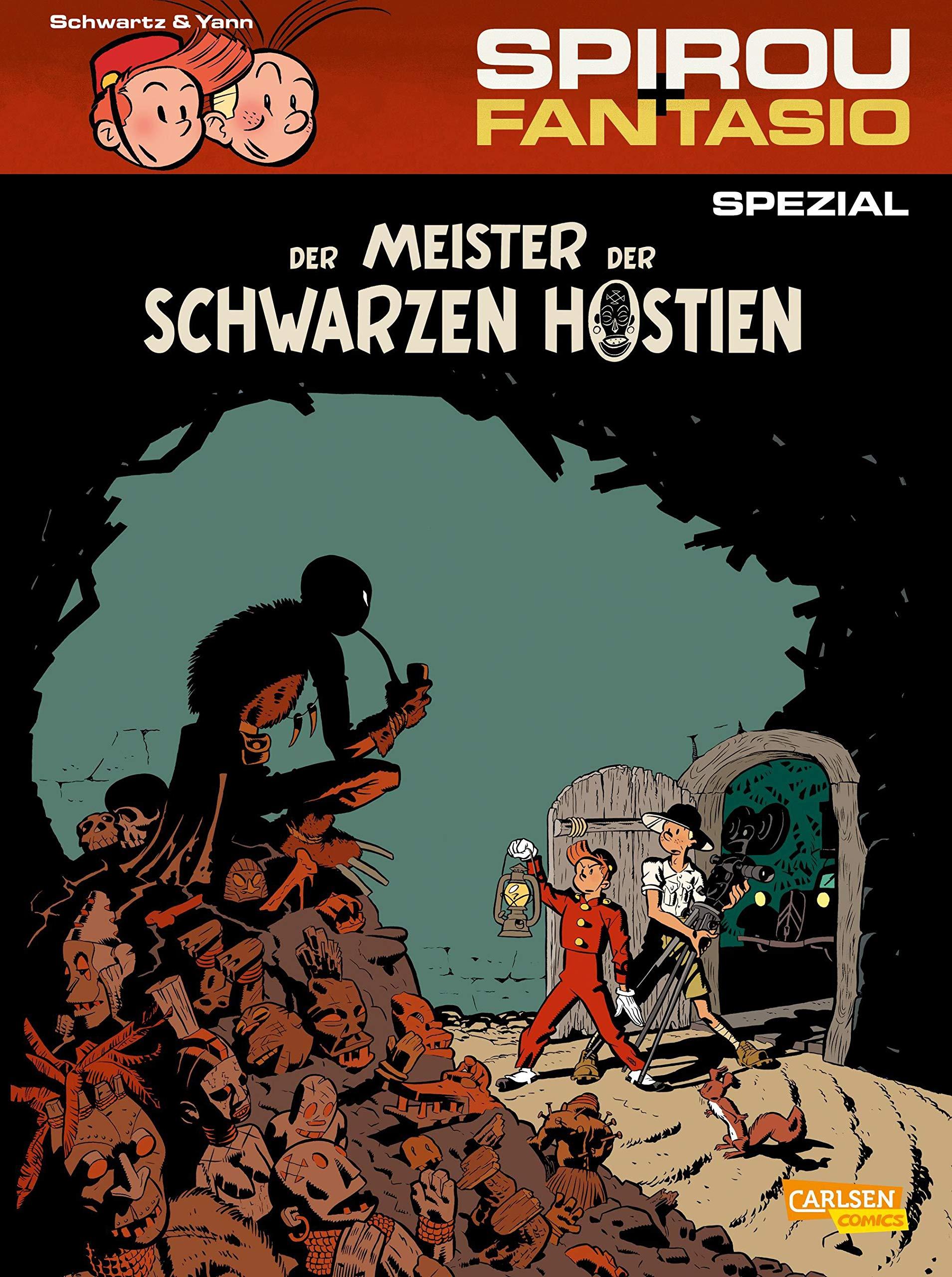 Spirou Fantasio Spezial Bd.22 Yann Deutsch Der Meister der schwarzen Hostien