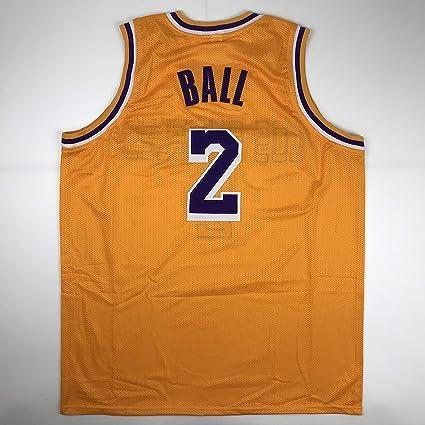 339399ed1759 Unsigned Lonzo Ball Los Angeles LA Yellow Custom Stitched Basketball Jersey  Size Men s XL New No