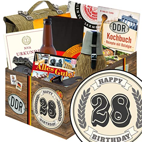 Geschenk Zum 28 Nva Box Geschenke 28 Geburtstag Mann Lustig