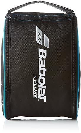 Babolat Shoe Xplore Bolsas para Zapatos, Unisex Adulto, Negro/Azul, Talla Única: Amazon.es: Deportes y aire libre